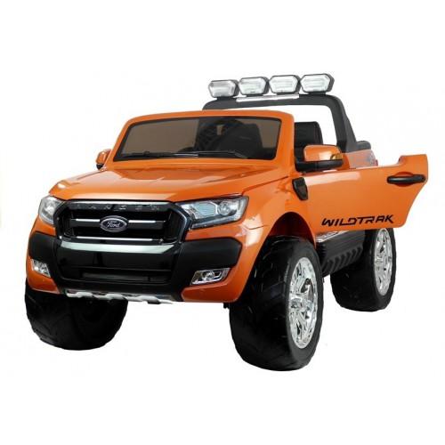 Auto na akumulator Ford RANGER Pomarańczowy lakierowany 4x4