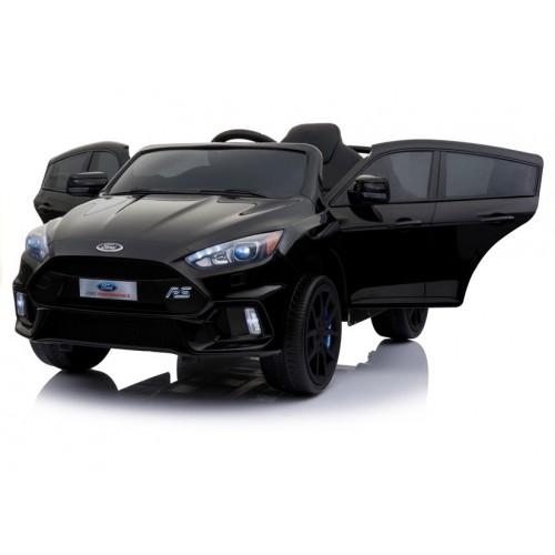 Auto na akumulator Ford Focus  Czarne Lakierowane Duże miękkie koła EVA, Amortyzatory