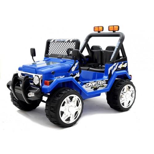 Auto na akumulator Jeep Raptor koła EVA Niebieski