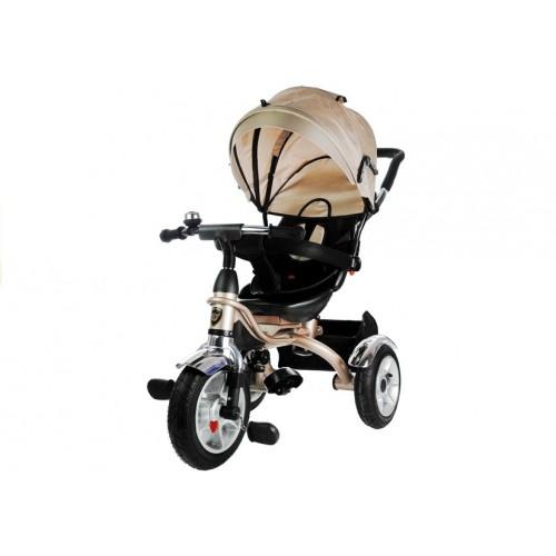 Rower Trójkołowy z daszkiem Pro 500 Kremowy