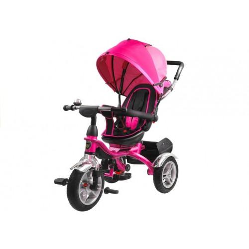 Rower Trójkołowy z daszkiem Pro 500 Różowy