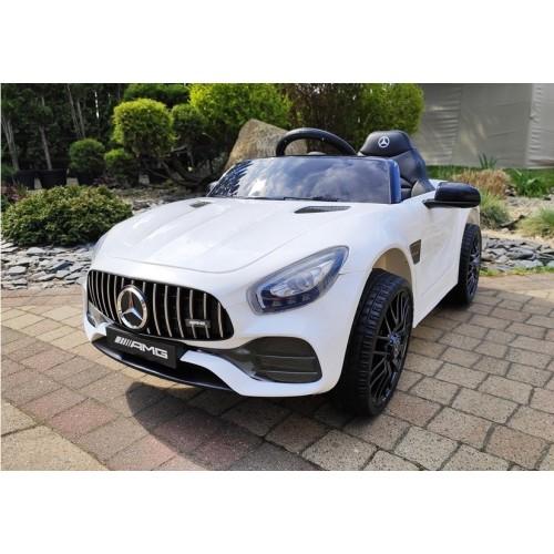 Auto Na Akumulator Mercedes AMG GTR Lift Biały Convertible
