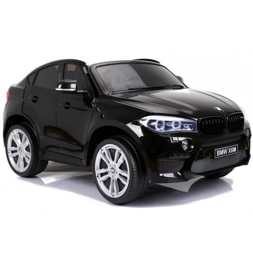 Auto Na Akumulator BMW X6 M-Pakiet Czarne 2-osobowe moc 240W