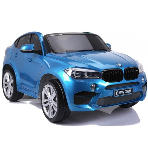 Auto Na Akumulator BMW X6 M-Pakiet Niebieskie Lakierowane