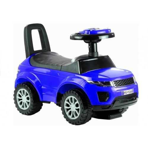 Jeździk dla Malucha Land Rover Gra + Świeci Niebieski