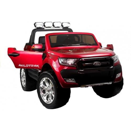 Auto Na Akumulator Ford Ranger 4x4 Czerwony Lakier LCD