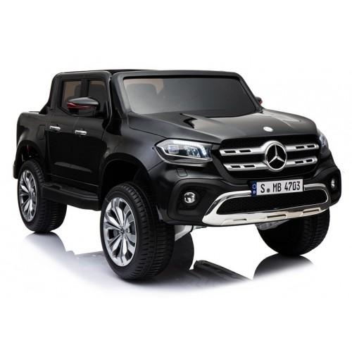 Pojazd na Akumulator Mercedes X Czarny Lakierowany 4x4 Bogata wersja