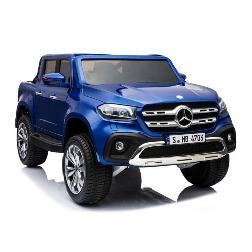 Pojazd na Akumulator Mercedes X Niebieski Lakierowany 4x4 Bogata wersja