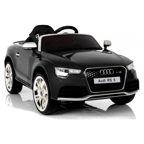Auto na Akumulator Audi RS5 Czarne Lakierowane LED