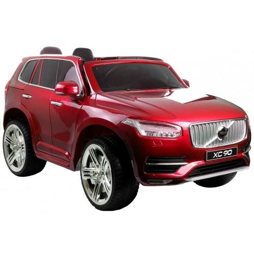Auto Na Akumulator VOLVO XC90 Czerwone Lakierowane