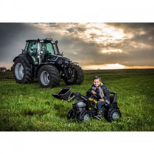 ROLLY TOYS Traktor na PEDAŁY DEUTZ FAHR Łyżka 3-8L