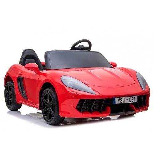Auto na akumulator YSA021A Czerwony Lakierowany