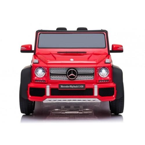 Auto na akumulator A100 Czerwony Lakierowany