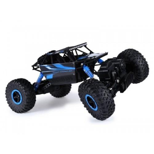 Samochód RC ROCK CRAWLER 2.4GHz 1:18 Niebieski