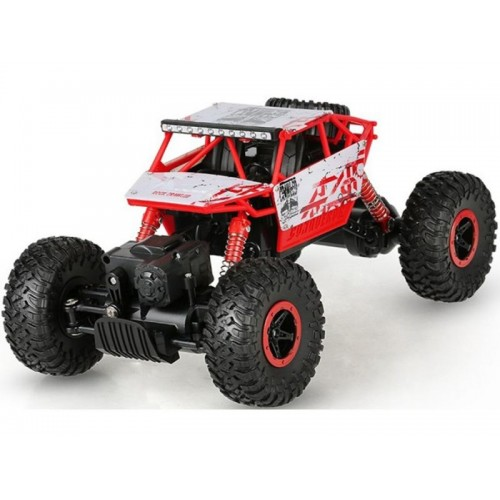 Samochód Rc ROCK CRAWLER2.4GHz 1:18Czerwony