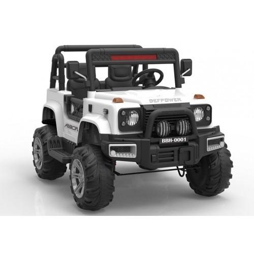 Auto na Akumulator BBH-0001 Biały