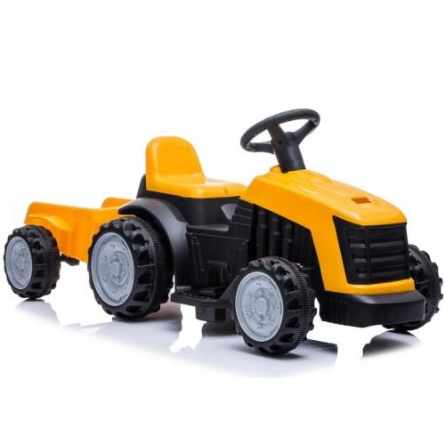 Traktor na Akumulator TR1908T Żółty