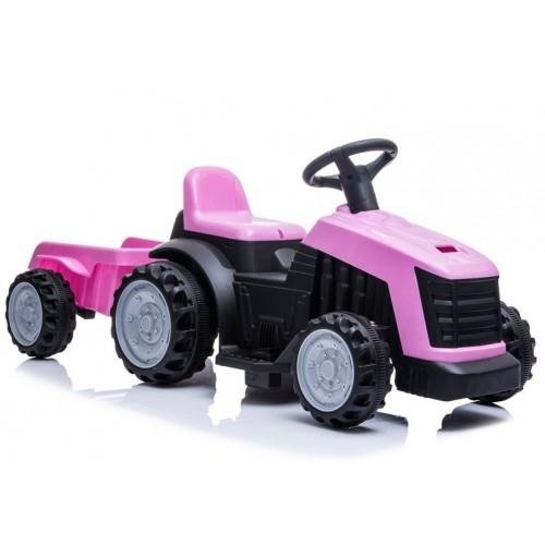Traktor na Akumulator TR1908T Różowy