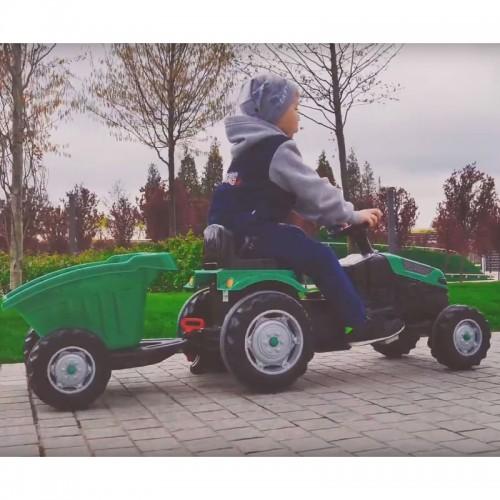 WOOPIE Traktor na Pedały Zielony