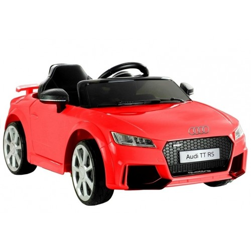 Auto na akumulator Audi TT RS Quattro Czerwone