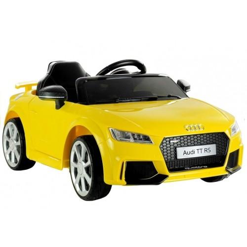 Auto na Akumulator Audi TT RS Quattro Żółte