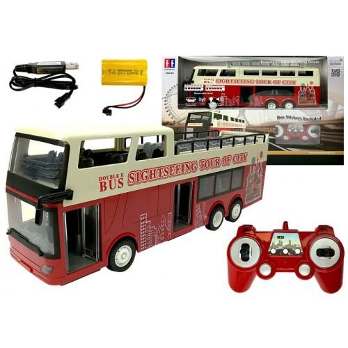 Autobus Piętrowy Zdalnie Sterowany R/C 2.4G 1:18