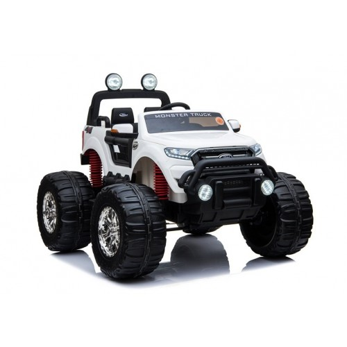 Pojazd na Akumulator Auto Ford Ranger WIELKI Monster Biały