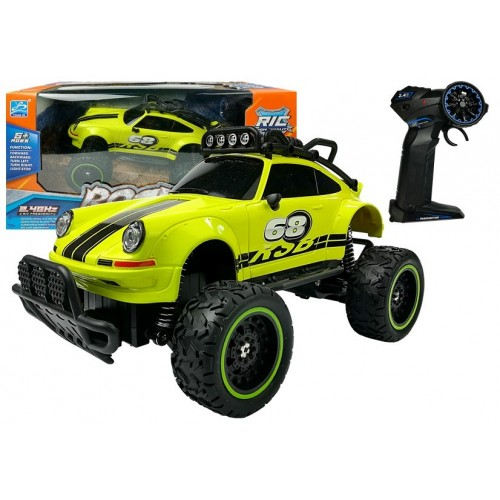 Auto Zdalnie Sterowane R/C Beetle Zielone 2.4G