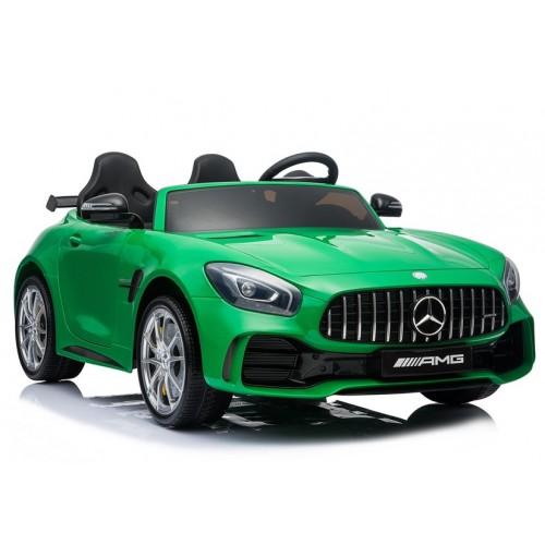 Pojazd na Akumulator Mercedes GTR Zielony 2-osobowy