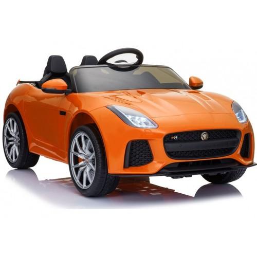 Auto na Akumulator Jaguar F-Type Pomarańczowy