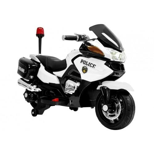Motor na Akumulator Policja Bajaj Dominar Biały