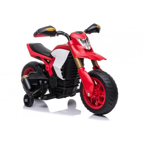 Motor na akumulator Enduro Cross Country Czerwony