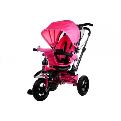 Rower Trójkołowy z daszkiem Pro 700 Różowy