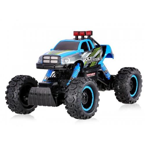 Samochód Auto Rock Crawler 1:14 2.4GHz 4WD Niebieski