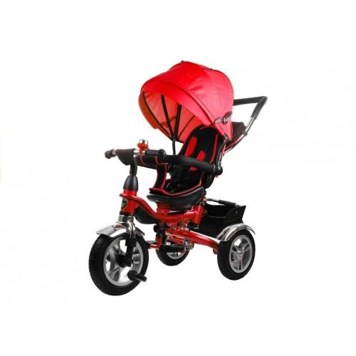 Rower Trójkołowy z daszkiem Pro 600 Czerwony