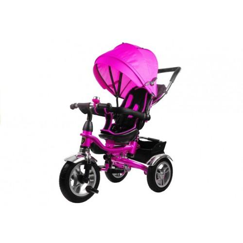 Rower Trójkołowy z daszkiem Pro 600 Różowy