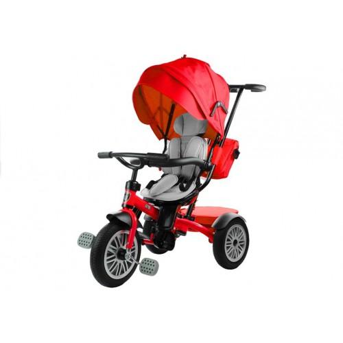 Rower Trójkołowy z daszkiem Pro 800 Czerwony