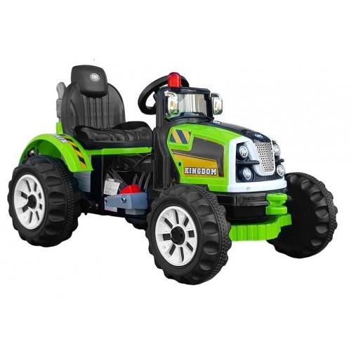 Traktor na Akumulator Kingdom Zielony