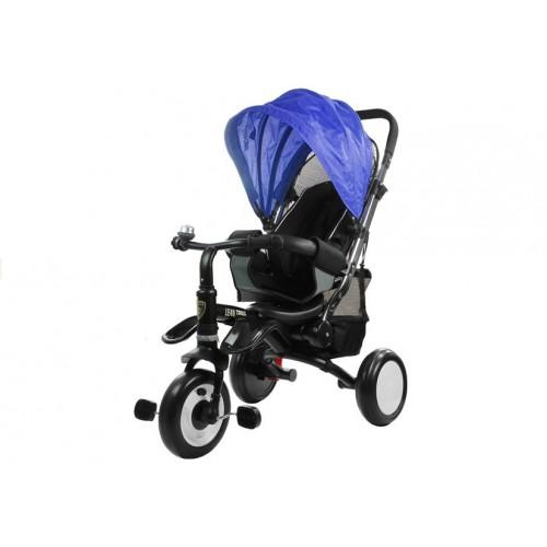 Rower Trójkołowy z daszkiem Pro 400 Niebieski