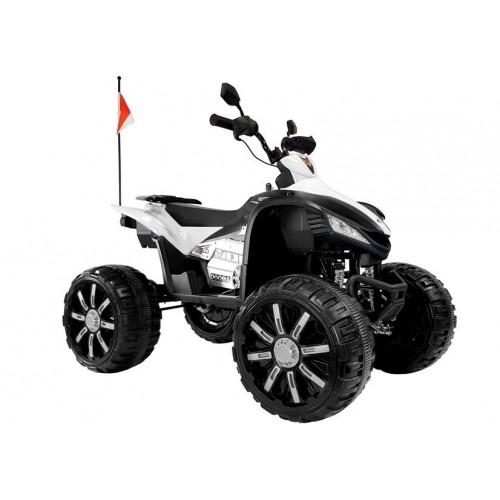 Quad na Akumulator TRX 450R do 50kg 2-osobowy 2x120W Biały