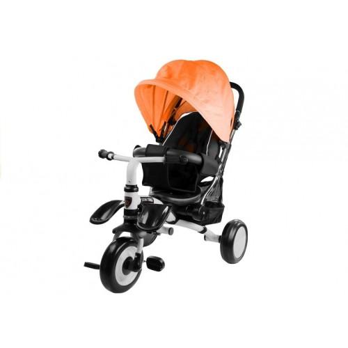 Rower Trójkołowy z daszkiem Pro 400 Pomarańczowy