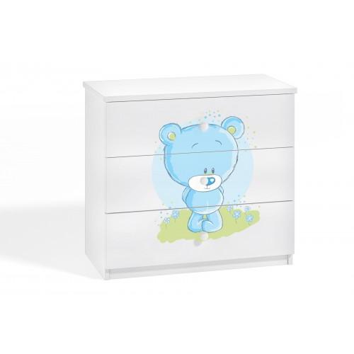 Komoda z nadrukiem, grafiką, obrazkiem Kolekcja Fernando - Blue bear