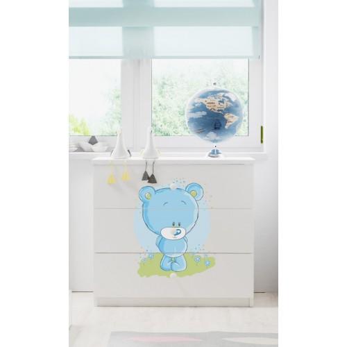 Komoda Fernando - Blue bear