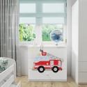 Komoda z nadrukiem, grafiką, obrazkiem Kolekcja Fernando - Super Straż Pożarna