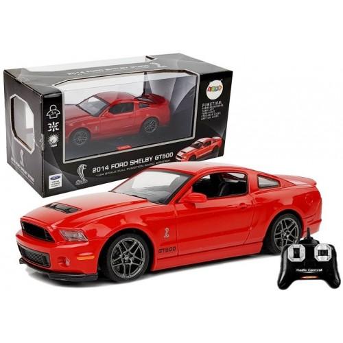 Auto Zdalnie Sterowane Ford Shelby GT500 Czerwony 2.4 G