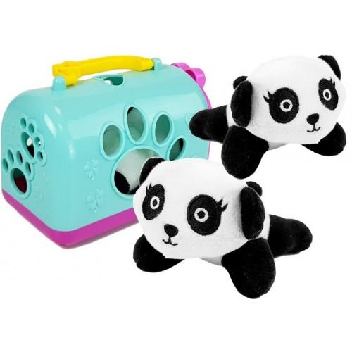 Mała Panda z Transporterem Maskotka