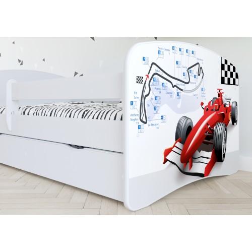 Łóżko Fernando Łóżeczko z nadrukiem, grafiką, obrazkiem - Formuła