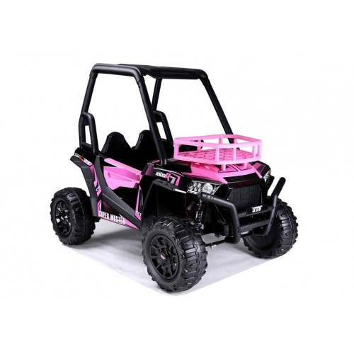 Auto na Akumulator JS360-1 Różowy