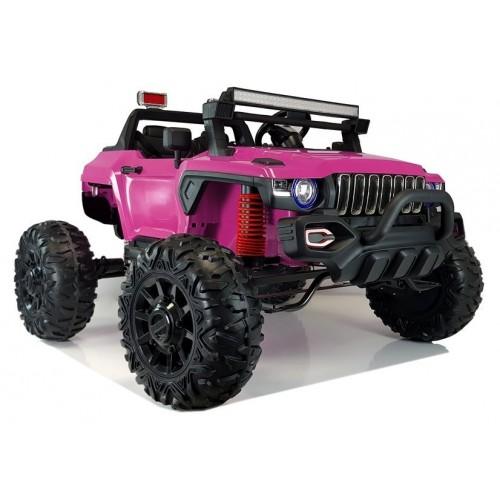 Auto na Akumulator QLS-618B Różowe