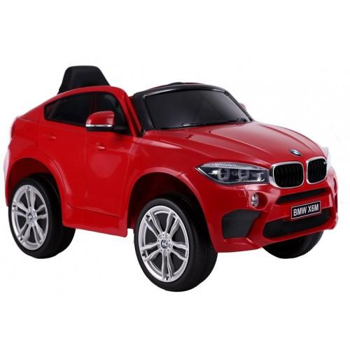 Auto na Akumulator BMW X6 Czerwone Skóra, EVA
